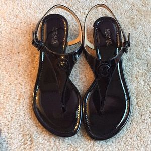 1259cab564a9 MICHAEL Michael Kors Shoes - New! Michael Kors Ramona black Sandal- 7